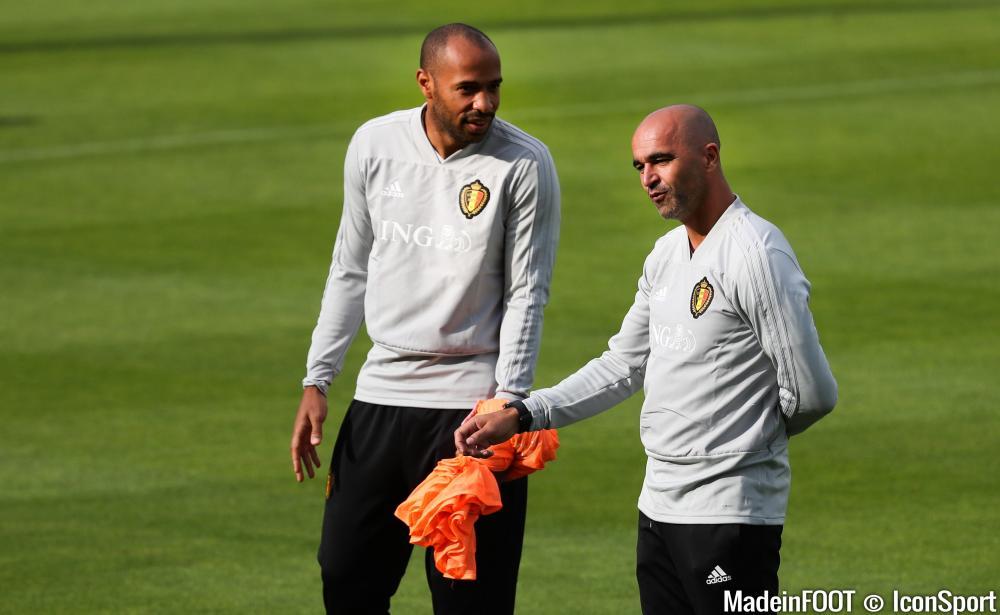 Thierry Henry est toujours l'adjoint de Roberto Martinez... pour combien de temps ?