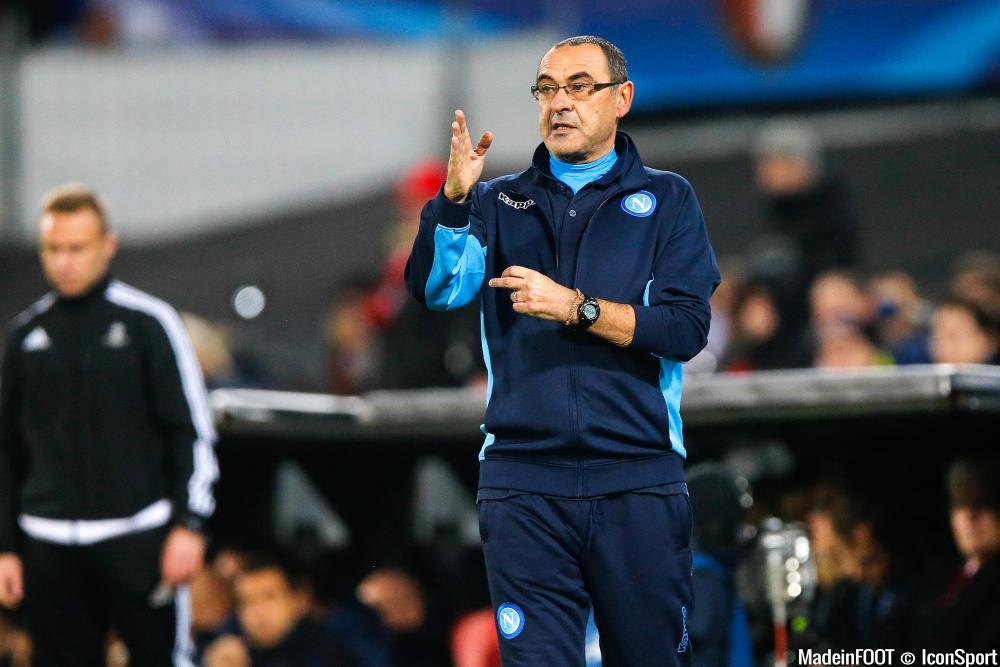 Sarri est finalement tombé d'accord avec le Napoli