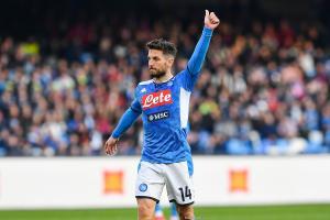 Dries Mertens est en fin de contrat avec le Napoli.